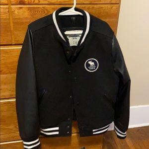 Kids Abercrombie varsity jacket